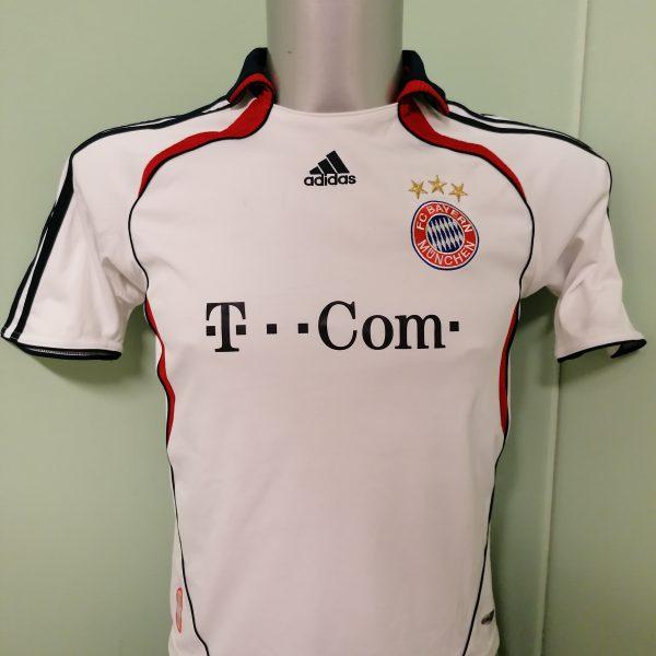 Vintage Bayern Munchen 2006 2007 BL away shirt adidas Boys M 152cm 12Y (1)