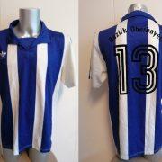 Vintage adidas 1992 1993 German Amateur shirt blue white #13 size L