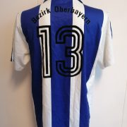Vintage adidas 1992 1993 German Amateur shirt blue white #13 size L (3)