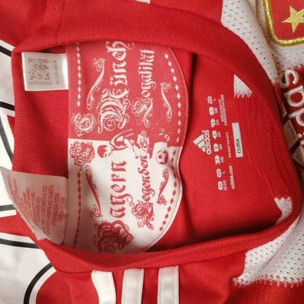 Bayern Munchen 2010 2011 home shirt adidas Muller 25 size Boys L 164 14Y (4)