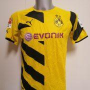 Borussia Dortmund 2014-15 home shirt Puma trikot Kampl 23 176cm 15-16Y (1)