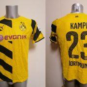 Borussia Dortmund 2014-15 home shirt Puma trikot Kampl 23 176cm 15-16Y