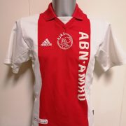 Vintage Ajax 2001 2002 home shirt adidas football top size S (1)