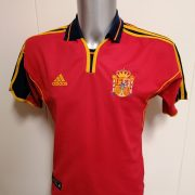 Vintage Spain 2000 2001 2002 home shirt adidas football jersey size S Euro 2000 (1)