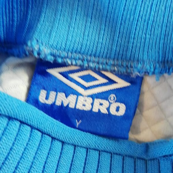 Manchester United 1996 1997 third GK padded shirt size Y (9)