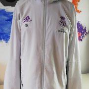 Real Madrid 2016 2017 full tracksuit bottoms M jacket L R9 adidas football (1)