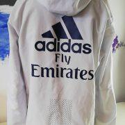 Real Madrid 2016 2017 full tracksuit bottoms M jacket L R9 adidas football (2)