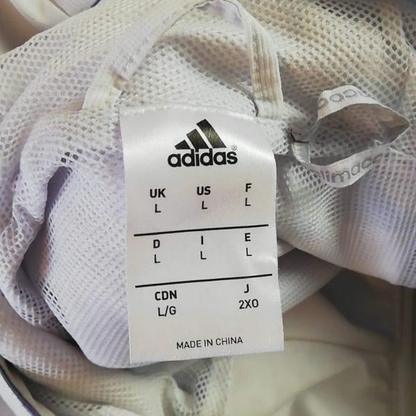 Real Madrid 2016 2017 full tracksuit bottoms M jacket L R9 adidas football (6)