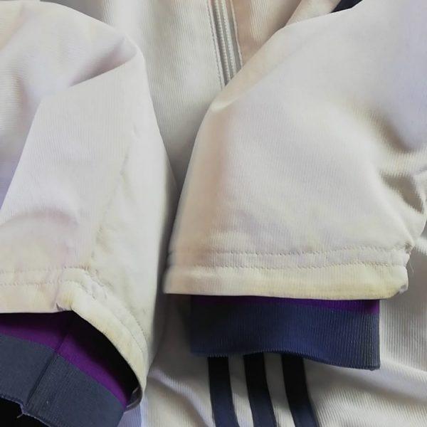 Real Madrid 2016 2017 full tracksuit bottoms M jacket L R9 adidas football (7)