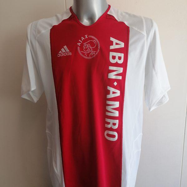 Vintage Ajax 2005 2006 home shirt adidas football top size L (2)