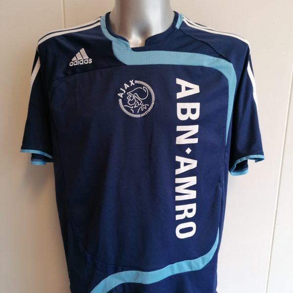 Vintage Ajax 2007 2008 away shirt adidas soccer jersey size L (1)