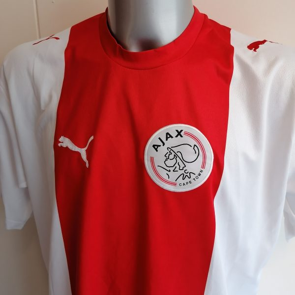 Vintage Ajax Capetown (now Spurs) 2008 2009 home shirt Puma jersey size XL (2)