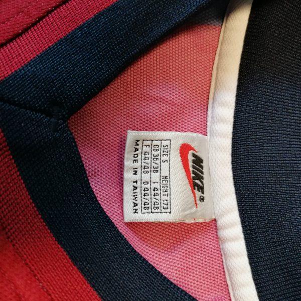 Vintage Barcelona 1998-00 home shirt Nike football top Litmanen 10 size S (6)
