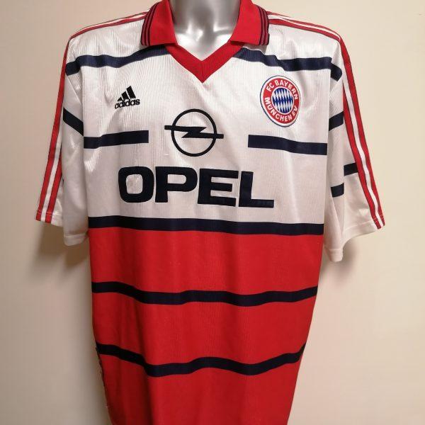 Vintage Bayern Munchen 1998 1999 2000 AWAY shirt adidas size XXL trikot (1)
