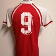 Vintage Erima 1980ies red football shirt #9 size L made in west germany (2)