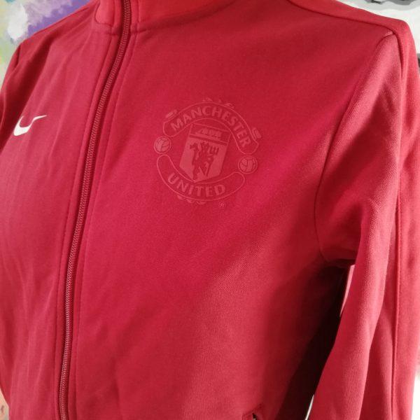 Vintage Nike Men's Manchester United Squad Sideline Jacket size (2)