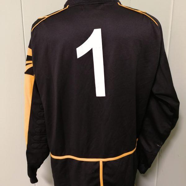 Vintage Paganese goal keeper shirt Legea jersey #1 size XL (2)