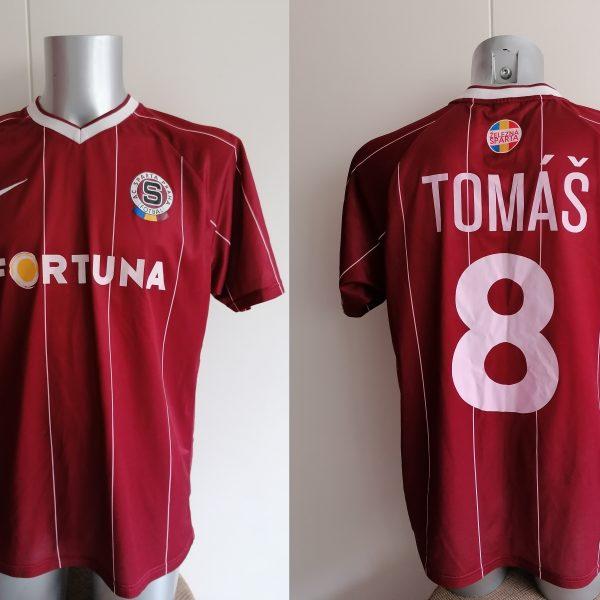 Vintage Sparta Praha Prague 2007 2008 home shirt Nike Tomas 8 size L (1)