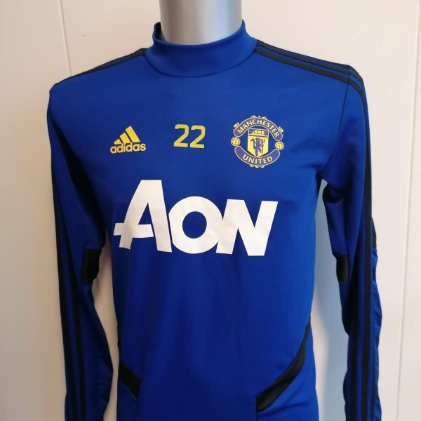 Adidas Manchester United 201920 Blue Training Top DX9036 size S (1)