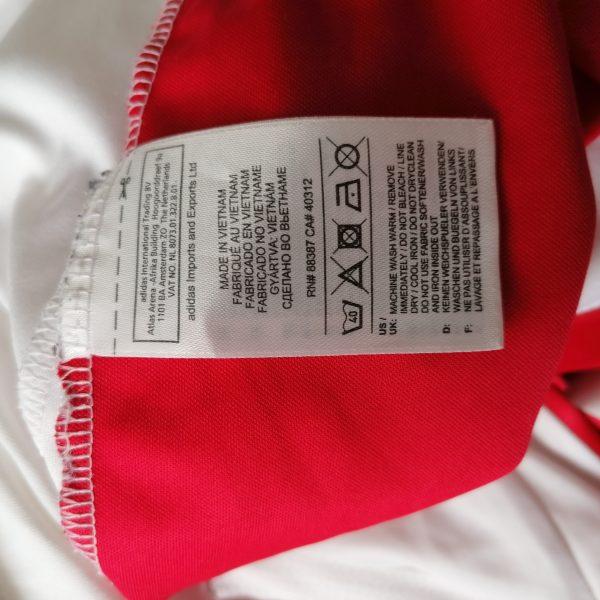 Ajax 2011 2012 thuis shirt maat M adidas (3)