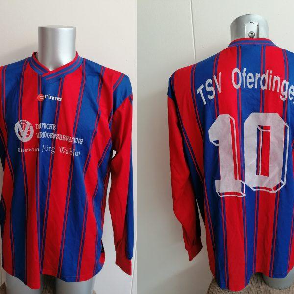 Erima 1990ies Germany Amateur team TSV Oferdingen shirt #10 size XXL