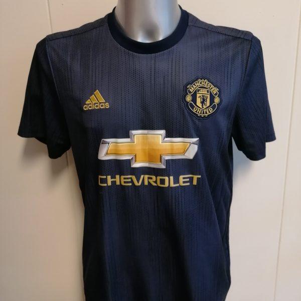 Manchester United 2016 2017 away shirt adidas football top size M (1)