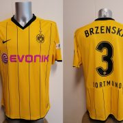 Match issue Borussia Dortmund 2008 home shirt BL Brzenska 3 size XL (1)