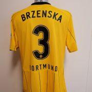 Match issue Borussia Dortmund 2008 home shirt BL Brzenska 3 size XL (7)