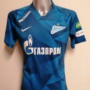 Match issue Zenit St Petersburg 2019 2020 home shirt Malcom 8 signed (1)