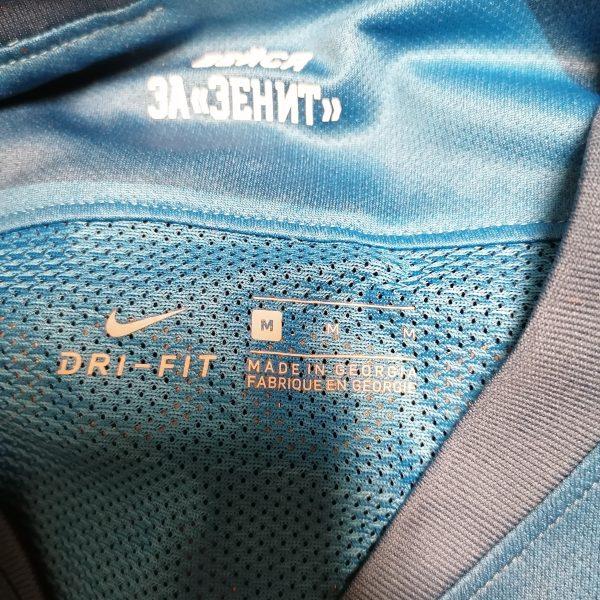 Match issue Zenit St Petersburg 2019 2020 home shirt Malcom 8 signed (2)