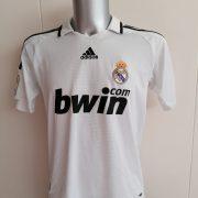 Real Madrid 2008 2009 LFP home football shirt adidas size Boys XL 176cm 16Y (1)