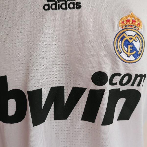 Real Madrid 2008 2009 LFP home football shirt adidas size Boys XL 176cm 16Y (2)