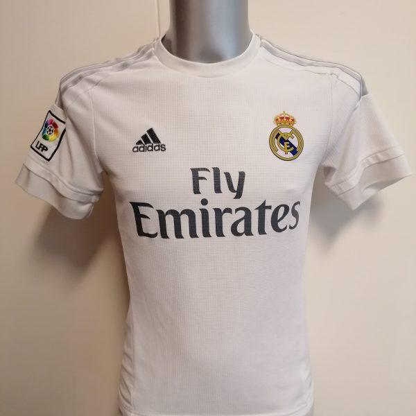 Real Madrid 2015 2016 LFP home football shirt adidas size S (1)