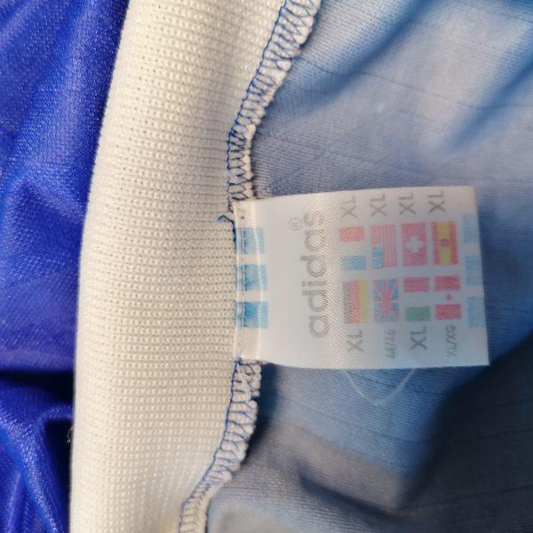 Vintage Adidas 1996 football shirt ls style Schalke France size XL 44-46 (3)