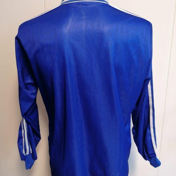 Vintage Adidas 1996 football shirt ls style Schalke France size XL 44-46 (4)