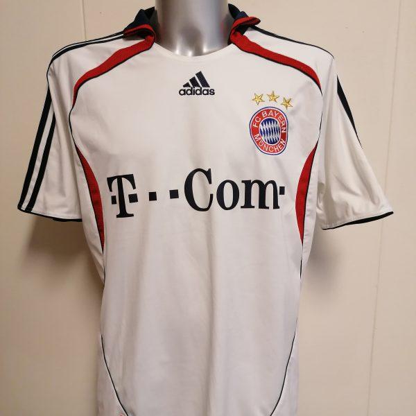 Vintage Bayern Munchen 2006 2007 away shirt adidas football top size XL (1)