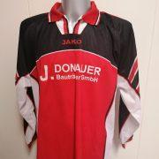 Vintage JAKO 1990ies red ls german amateur football shirt #14 size XL (2)