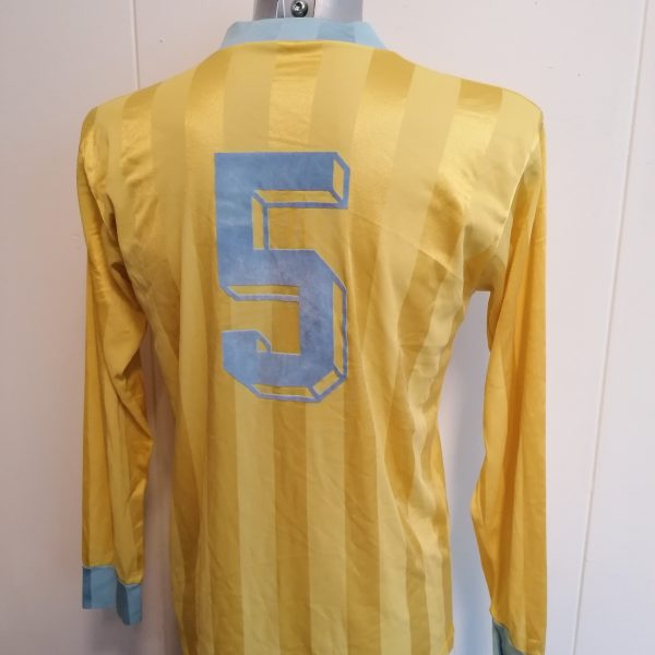 FV Biberag 1970ies Germany Amateur team shirt #5 size L football trikot vintage (3)