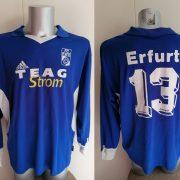 Match worn RWE Erfurt 2002 2003 away shirt #13 size XL