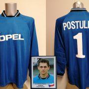 Player issue Sparta Prague goal keeper shirt Postulka 1 CL 1997 1998 XL blue (1)