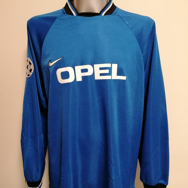 Player issue Sparta Prague goal keeper shirt Postulka 1 CL 1997 1998 XL blue (2)
