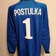 Player issue Sparta Prague goal keeper shirt Postulka 1 CL 1997 1998 XL blue (4)