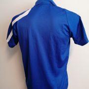 Schalke 04 2010 2011 blue training polo shirt adidas soccer jersey size S (4)