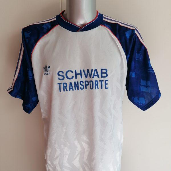 Vintage 1990 1991 Germany Amateur team shirt #8 size XL football trikot (1)