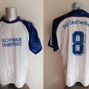 Vintage 1990 1991 Germany Amateur team shirt #8 size XL football trikot