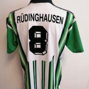 Vintage 1990ies Germany Amateur team shirt #8 size L football Reebok (1)