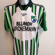 Vintage 1990ies Germany Amateur team shirt #8 size L football Reebok (2)