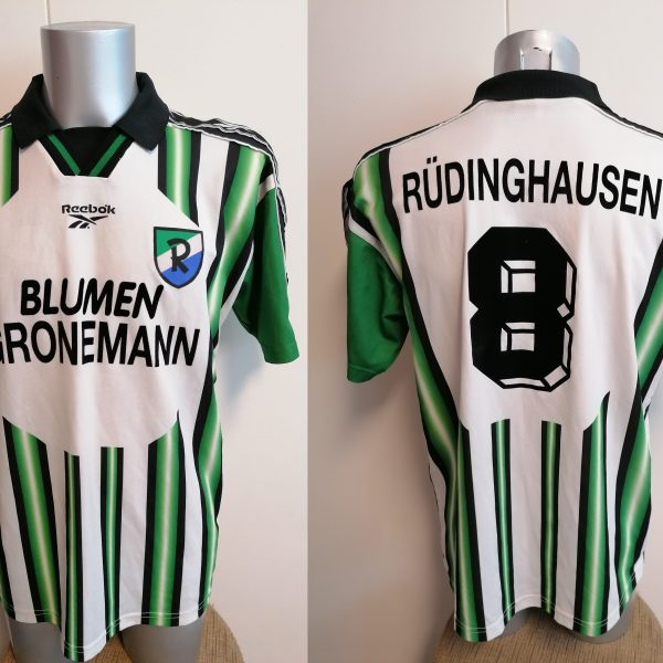 Vintage 1990ies Germany Amateur team shirt #8 size L football Reebok
