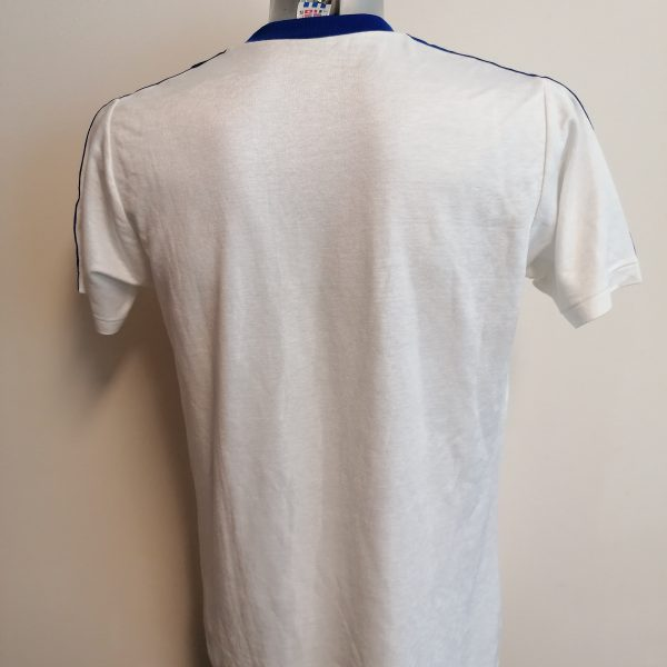Vintage Adidas 1980ies white shirt size L D78 made in West-Germany (2)