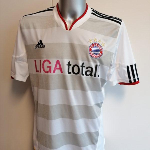 Vintage Bayern Munchen 2010 2011 away shirt adidas trikot top size L (1)